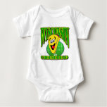 CheeseHead Cartoon 2 Baby Bodysuit