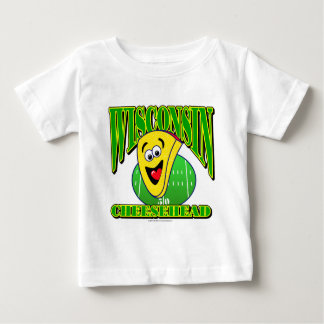 CheeseHead Cartoon 2 Baby T-Shirt
