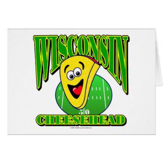 CheeseHead Cartoon 2 Card