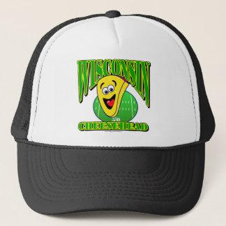 CheeseHead Cartoon 2 Trucker Hat