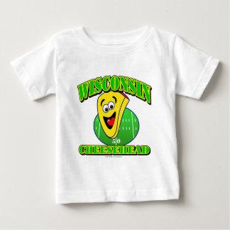 CheeseHead Cartoon Baby T-Shirt