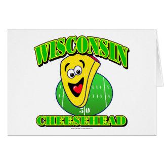 CheeseHead Cartoon Card