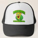 CheeseHead Cartoon Trucker Hat