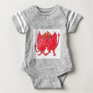 Cheesehead Demons Baby Bodysuit