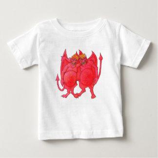 Cheesehead Demons Baby T-Shirt
