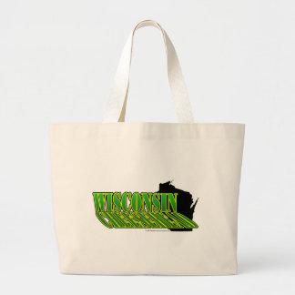 CheeseHead Shadow Canvas Bags