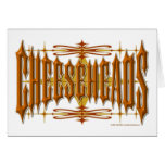 Cheeseheads Metal Greeting Cards