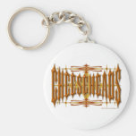 Cheeseheads Metal Keychain