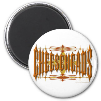 Cheeseheads Metal Magnet