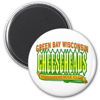 Cheeseheads Mooootercycle Club Magnet