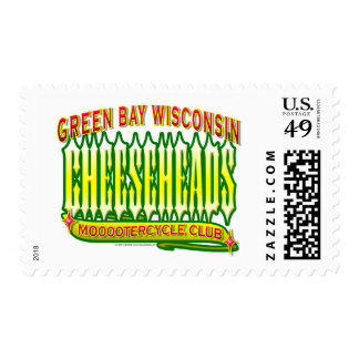 Cheeseheads Mooootercycle Club Postage