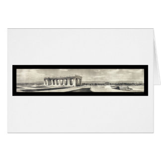 Cheeseman Memorial Colorado Photo 1911 Card