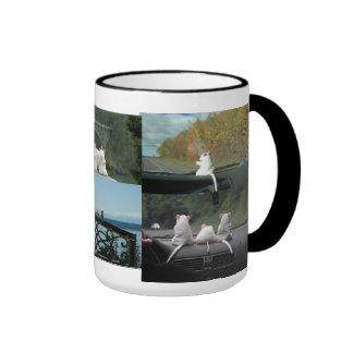 Cheeser on Vacation Ringer Mug