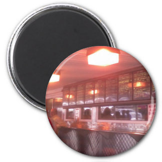 Cheesesteak de Philadelphia Imán Redondo 5 Cm