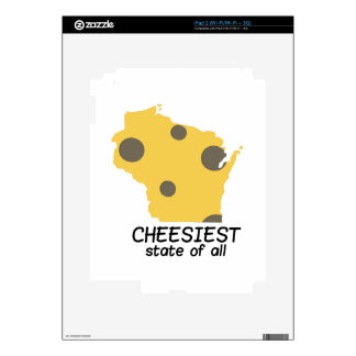Cheesiest State Decals For The iPad 2