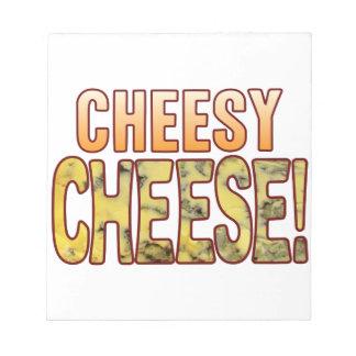 Cheesy Blue Cheese Notepad