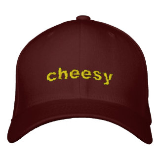 Cheesy Embroidered Hats