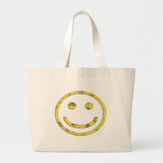 Cheesy Grin Large Tote Bag