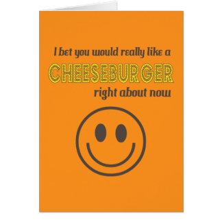 Cheesy Humor Card