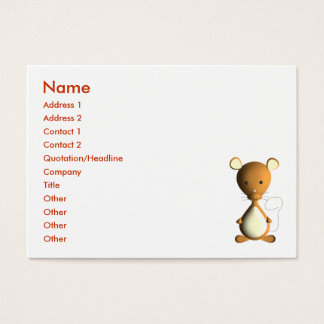 Cheesy Little Mouse Business Card