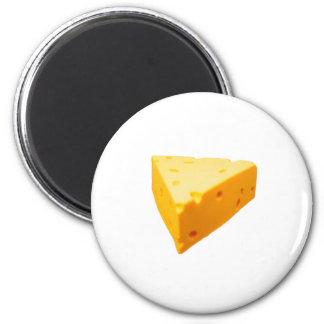 Cheesy 2 Inch Round Magnet