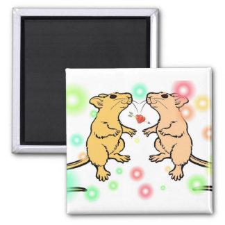 Cheesy Mice Magnet
