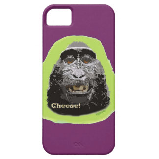 Cheesy Monkey Cell Phone Case