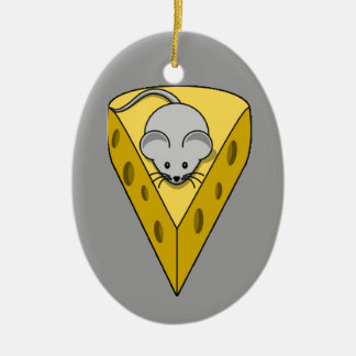 Cheesy Mouse Ornament
