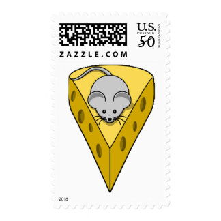 Cheesy Mouse Postage