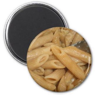 Cheesy Pasta 2 Inch Round Magnet