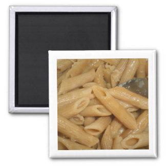 Cheesy Pasta 2 Inch Square Magnet