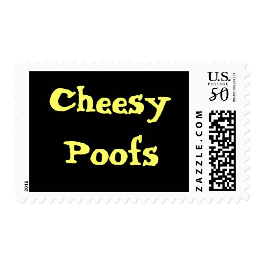 Cheesy Poofs Stamp