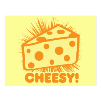 Cheesy Postcard