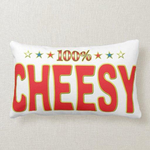 Cheesy Star Tag Pillows