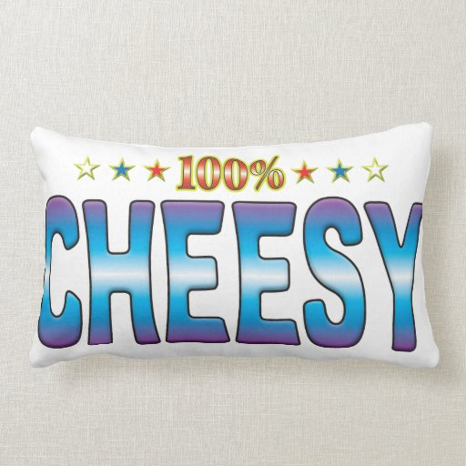 Cheesy Star Tag v2 Pillow