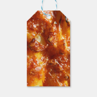 Cheesy Topped Potato Tissue Paper Gift Tags