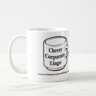 CheesyCorporateLingo.com Logo Mug