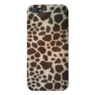 Cheetaah manchó la caja del iPhone iPhone 5 Carcasa