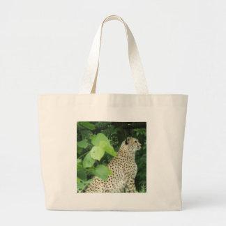 cheetah2 tote bag