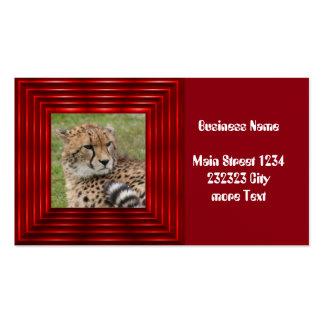 Cheetah 1115 business card