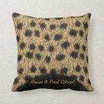 Cheetah 1 Pillows Options