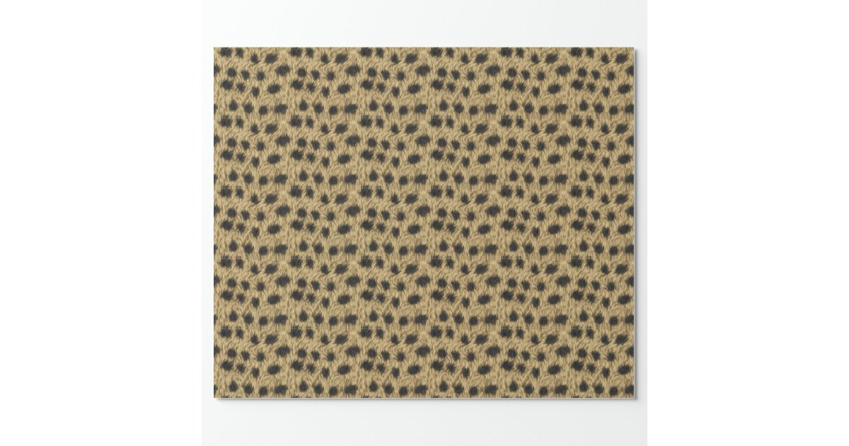 cheetah wrapping paper Click the magnifying glass to see full pattern of animal gift wrap some papers are  stored in our  gold metallic cheetah select enlarge colored ink on.