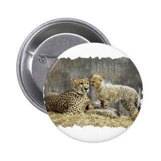 Cheetah-a-Cubs Button