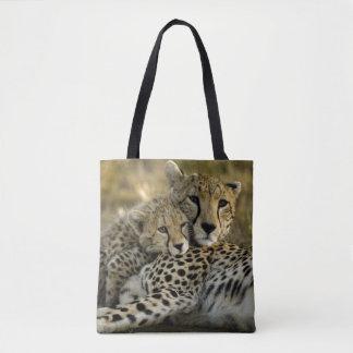 Cheetah, Acinonyx jubatus 2 Tote Bag