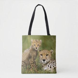 Cheetah, Acinonyx jubatus Tote Bag