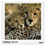 Cheetah, Acinonyx jubatus, with cub in the Masai 2 Room Sticker