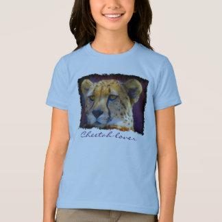 Cheetah African Big Cat Wildlife-lover Art T-Shirt