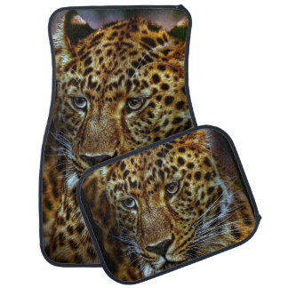 Cheetah Animal Photograph Car Mat
