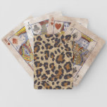 Cheetah Animal Print Playing Cards