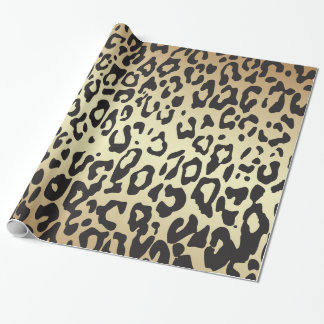 Cheetah Animal Print Wrapping Paper